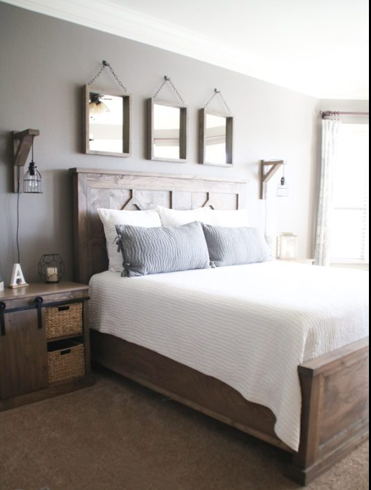 Farmhouse Bedroom Table