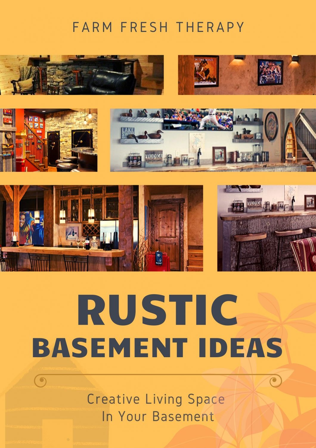 Rustic Basement Ideas
