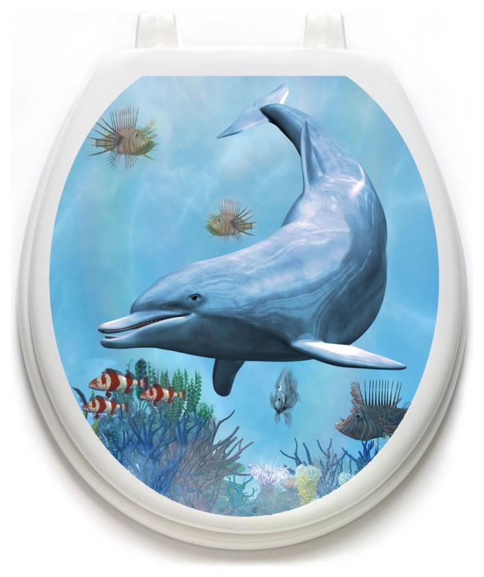 dolphin bathroom decor