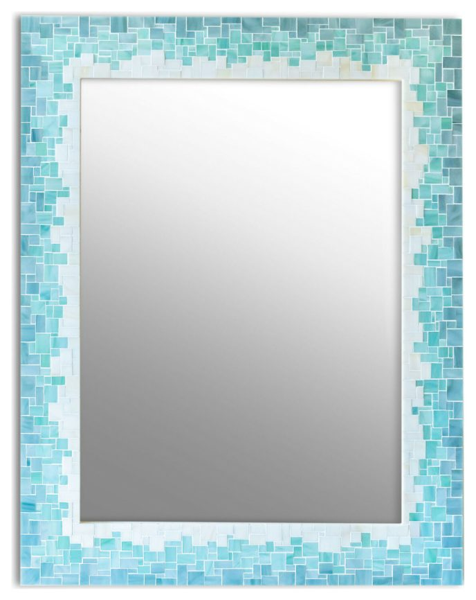 gradient mirror for bathroom