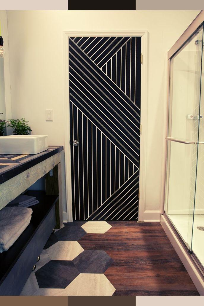 modern bathroom doors