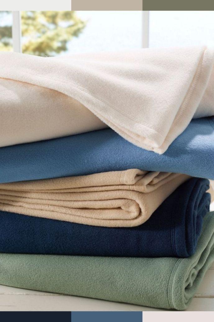 fleece blankets material