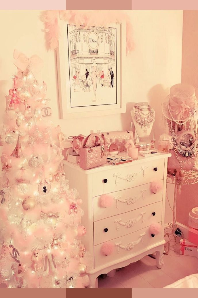 pink room aesthetic