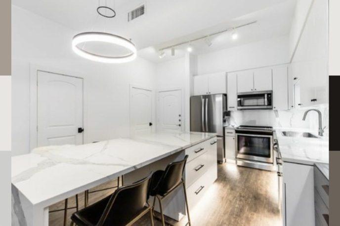 small kitchen condo remodel