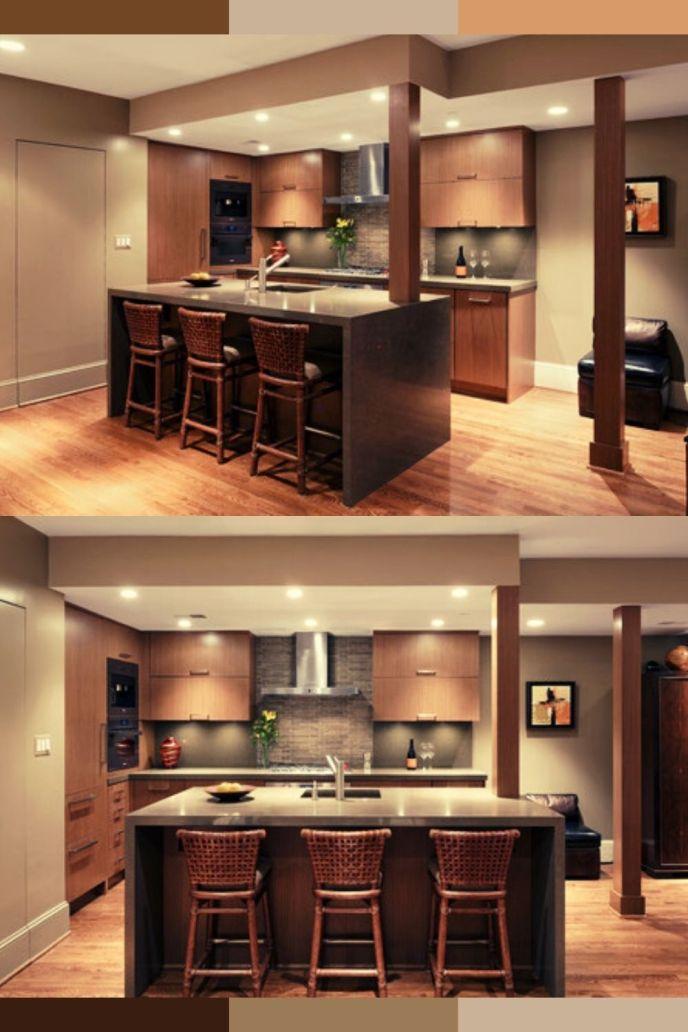 80s condo remodel open kitchen bathroom