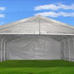 20×22-Carport-GreyWhite-Waterproof-Storage-Canopy-Shed-Car-Truck-Boat-Garage-By-DELTA-Canopies-0