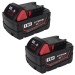 2Packs-Replace-18V-XC-5000mAh-Battery-for-Milwaukee-M18-M18B-48-11-1820-48-11-185048-11-1828-48-11-10-Cordless-Power-ToolsGERIT-BATT-0