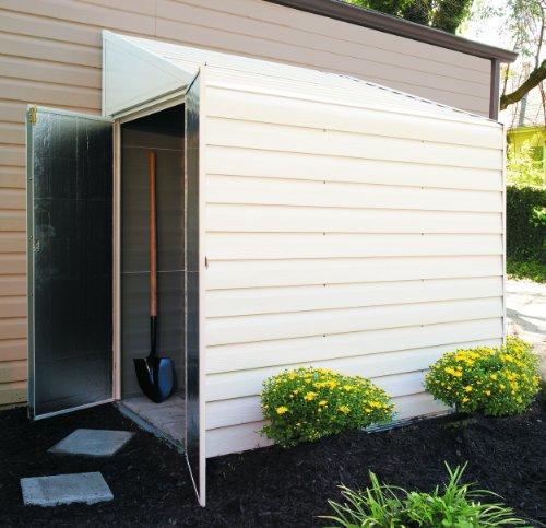 Arrow Shed YS47 Yard Saver 4 Feet By 7 Feet Steel Storage Shed