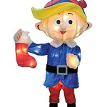 CHRISTMAS-24-3D-TINSEL-HERMEY-THE-DENTIST-OUTDOOR-INDOOR-HOLIDAY-DECORATION-FROM-RUDOLPH-THE-RED-NOSED-REINDEER-0