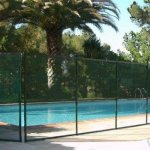 Classic-Guard-Swimming-Pool-Fence-Child-Safety-Pool-Safety-Mesh-Fence-4-Feet-Tall-and-12-Feet-Long-0