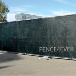 Fence4ever-8-x-50-3rd-Gen-Black-Fence-Privacy-Screen-Windscreen-Shade-Fabric-Mesh-Tarp-Aluminum-Grommets-0-0