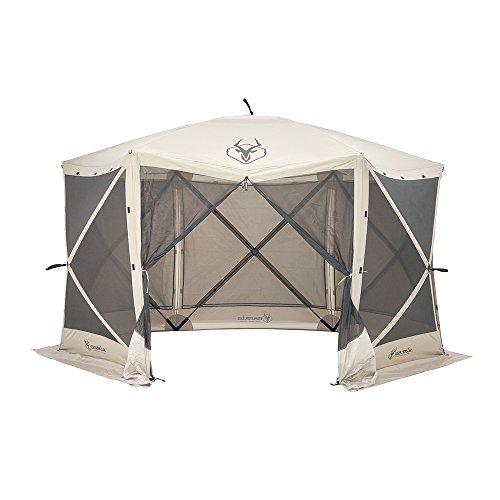 Gazelle 6 Sided Pop Up Portable Gazebo Screen Tent 8