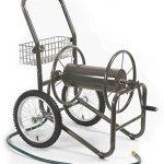 Liberty-Garden-Products-880-2-Industrial-2-Wheel-Pneumatic-Tires-Garden-Hose-Reel-Cart-Bronze-0