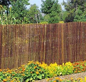 Good Master Garden Products Willow Fence Screen, 5 By 14 Feet