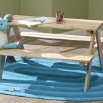 Merry-Garden-Kids-Wooden-Picnic-Bench-0-0