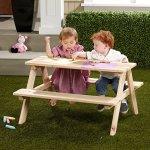 Merry-Garden-Kids-Wooden-Picnic-Bench-0-1