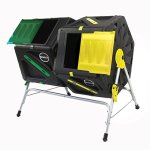 Miracle-Gro-Dual-Chamber-Tumbling-Composter-105-L277-gallon-Each-Chamber-0