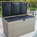 Multi-purpose-Outdoor-Deck-BoxStorage-Made-with-Powder-coated-Aluminum-Frames-and-Resin-Wicker-in-Driftwood-Finish-0-0