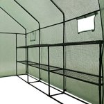Ogrow-2-Tier-12-Shelf-Portable-Garden-Walk-in-Greenhouse-117-x-67-x-83-Dark-Green-0-0