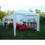 Palm-Springs-10-x-30-Foot-White-Party-Tent-Gazebo-Canopy-with-Sidewalls-0-0