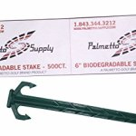 Palmetto-Golf-500-Ct-6-Professional-Biodegradable-Sod-Landscape-Stake-and-Fabric-Pin-Eco-Friendly-MADE-IN-THE-USA-Many-Uses-in-the-Lawn-Garden-Landscape-and-Patio-Palmetto-Golf-Brand-0-0