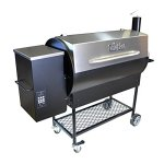 Pellet-Pro-Deluxe-1190-Stainless-Pellet-Grill-NEW-35-Capacity-Hopper-7-Year-Warranty-0