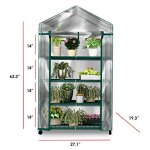 Plant-Greenhouse-on-Wheels-with-Clear-Cover-4-Tiers-Rack-Stands-Indoor-Outdoor-Portable-Solution-Kit-for-Home-Herb-and-Flower-Garden-Green-House-0-0