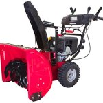 Power-Smart-DB7103PA-28-Inch-Snow-Thrower-252-cc-Electric-Start-Engine-with-Power-Assist-0