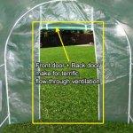 Quictent-2-Doors-Heavy-Duty-20x10x6-Portable-Greenhouse-Large-Walk-in-Green-Garden-Hot-House-8-vents-2-doors-Perfect-Flow-through-Ventilation-0-0