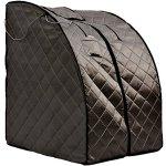 Sauna-Portable-Infrared-FAR-Carbon-Fiber-Panels-Wired-Remote-Control-Max-Heat-150-Degrees-Heated-Foot-Pad-Negative-Ion-Generation-Rejuvenator-Model-SA6310-bw-0-0