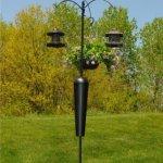 Squirrel-Stopper-SPB09-Shenandoah-Bird-Feeder-Post-w-3-Hanging-Stations-0