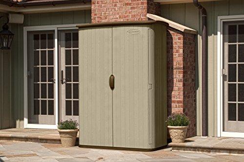 Suncast Bms4500 Large Vertical Storage Shed Farm