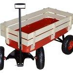 TMS-Outdoor-Wagon-All-Terrain-Pulling-w-Wood-Railing-Air-Tires-Children-Kid-Garden-0-1