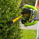 Earthwise-LHT14022-22-Inch-Blade-40-Volt-Cordless-Electric-Hedge-Trimmer-2Ah-Battery-Charger-Included-0-1
