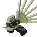 LawnMaster-CLGT2412-24-Volt-Li-On-Cordless-Pro-Grass-Trimmer-12-Inch-0-2