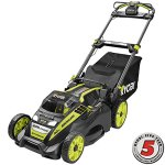 Ryobi-20-RY40190-40-Volt-Brushless-Lithium-Ion-Cordless-Battery-Self-Propelled-Lawn-Mower-with-50-Ah-Battery-and-Charger-Included-0