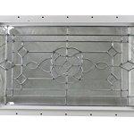 24-x-14-Decorative-Cut-Glass-J-Channel-Mount-Shed-Window-0-0