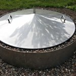 39-Round-Stainless-Steel-Metal-Fire-Pit-Cover-Top-Lid-0-2