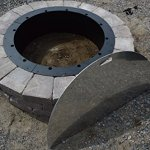 40Stainless-Steel-Metal-Round-fire-pit-campfire-ring-cover-snuffer-lid-Grill-fire-table-or-wood-burning-Patio-and-burn-area-clean-covering-coals-with-easy-removal-storage-unique-stylish-design-0-0