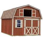 Best-Barns-Millcreek-12-X-16-Wood-Shed-Kit-0