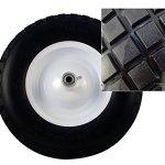 Bon-28-910-Premium-Contractor-Grade-Poly-Tray-Single-Wheel-Wheelbarrow-with-Steel-Handle-and-Flat-Free-Tire-5-34-Cubic-Feet-0-0
