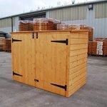Bosmere-Rowlinson-A042-Garbage-Bin-Storage-Shed-69-x-53-x-40-0-1