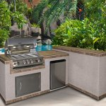 Cal-Flame-e3022-3-Piece-Island-with-32-Natural-Gas-BBQ-Grill-0