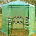 GHP-Dark-Green-785-x-825H-Greenhouse-w-Powder-Coated-Steel-Frame-0