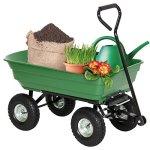 Garden-Wagon-Cart-Heavy-duty-Polycarbonate-Steel-Frame-650-lbs-Max-0