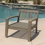 Grenada-Outdoor-Grey-Finished-Acacia-Wood-4-Piece-Chat-Set-with-Dark-Grey-Water-Resistant-Cushions-0-2
