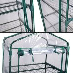 HomeTech-4-Tiers-Portable-Mini-Garden-Greenhouse-Flowers-Plants-Shed-Hot-House-for-Outdoor-Indoor-Winter-Cloudy-Growth-Stable-Environment-Metal-Frame-Durable-Strong-Peak-Roof-Wind-Rain-Proof-0-0