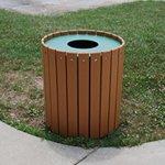 Jayhawk-Plastics-Gallon-Outdoor-Trashcan-Made-With-Twenty-Four-1-X-4-Recycled-Plastic-Slats-32-Gallon-Weighs-60-Lbs-Cedar-0