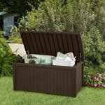 Keter-Borneo-110-Gal-Plastic-Outdoor-Patio-Storage-Container-Deck-Box-Garden-Bench-Brown-0-1
