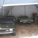 MDM-Rhino-Shelters-Round-Style-Three-Car-Portable-Building-in-Green-0-0